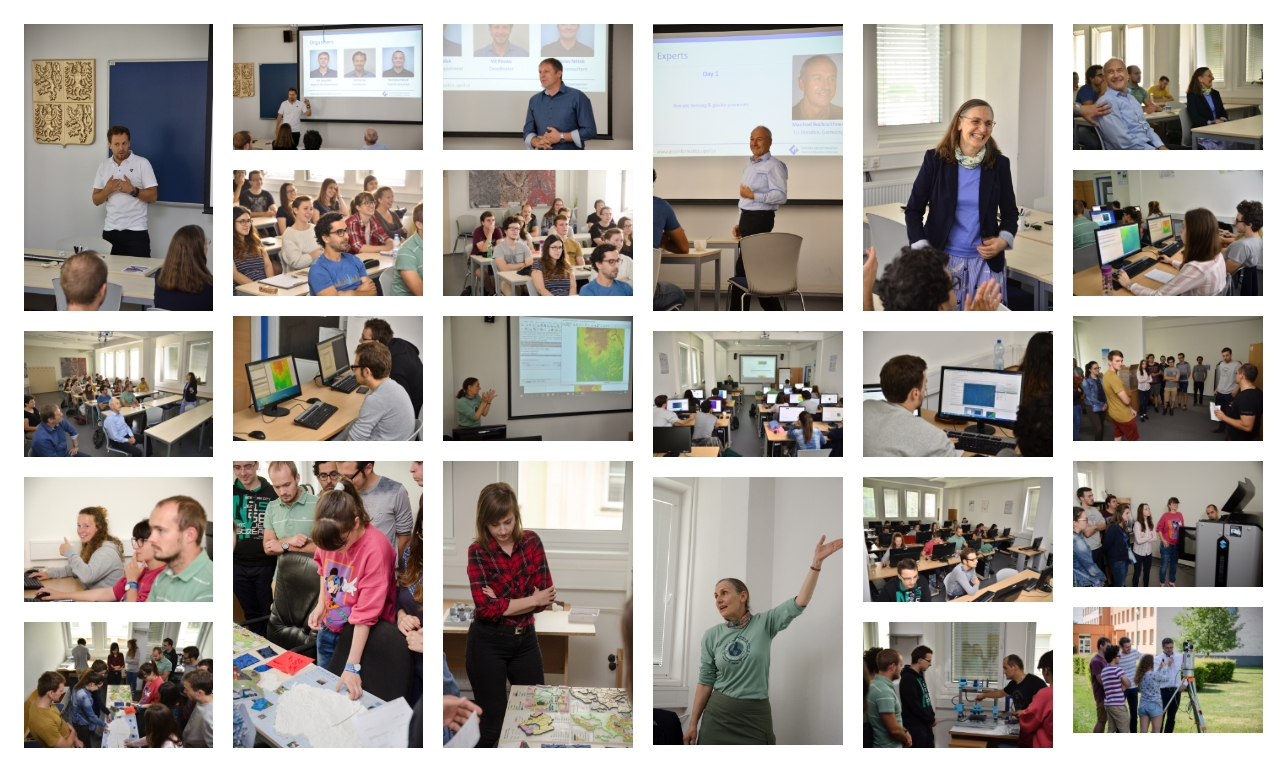 Geospatial Summer School 2019 @ Palacký University Olomouc, Department of Geoinformatics
